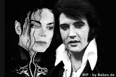 La morte di Michael Jackson & Elvis Presley