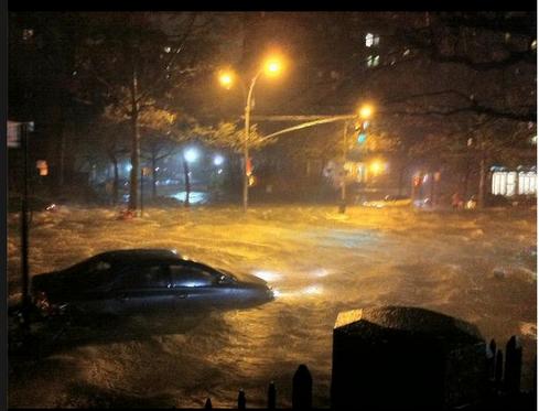 uragano sandy a  Manhattan