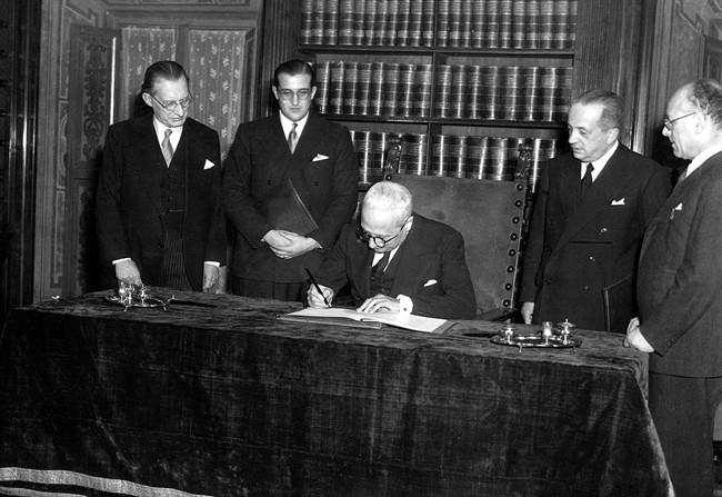costituzione italiana firma