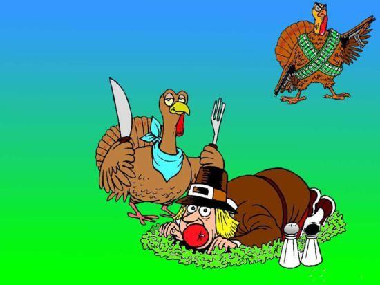 thanksgiving day tacchini si mimetizzano