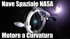 motore a curvatura astronave progetto nasa spazio