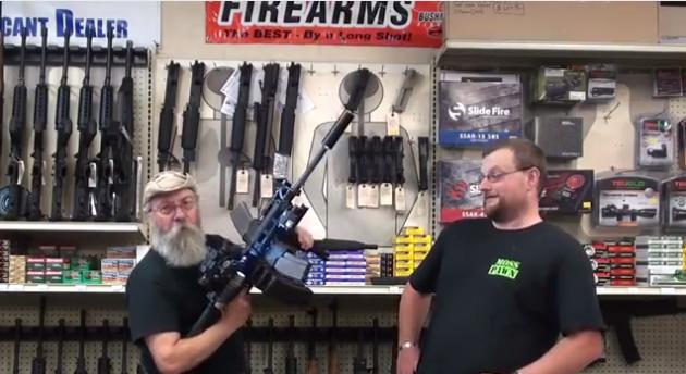 mitragliatrice per zombie