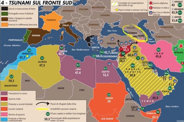 guerra in siria la mappa