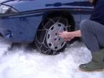 come fare a montare le catene da neve