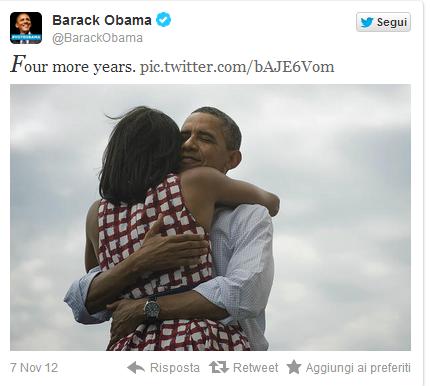 obama dichiara la vittoria con un tweet