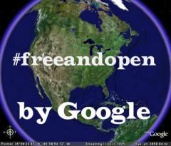 google #freeandopen contro censura web libero e aperto