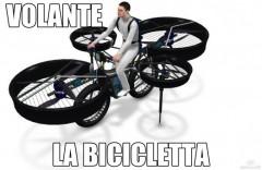 la bicicletta volante