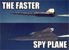 aereo spia più veloce